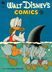 Cover Thumbnail for Walt Disney's Comics and Stories (Dell, 1940 series) #v12#11 (143)