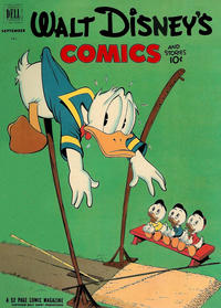 Cover Thumbnail for Walt Disney's Comics and Stories (Dell, 1940 series) #v12#12 (144)