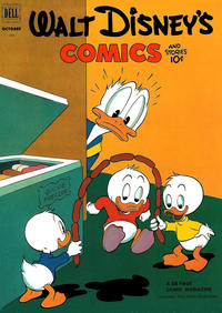 Cover Thumbnail for Walt Disney's Comics and Stories (Dell, 1940 series) #v13#1 (145)