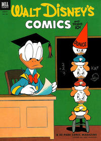 Cover Thumbnail for Walt Disney's Comics and Stories (Dell, 1940 series) #v13#6 (150)