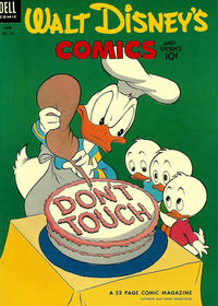 Cover Thumbnail for Walt Disney's Comics and Stories (Dell, 1940 series) #v13#9 (153)