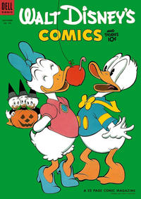 Cover Thumbnail for Walt Disney's Comics and Stories (Dell, 1940 series) #v14#2 (158)