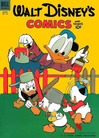 Cover Thumbnail for Walt Disney's Comics and Stories (Dell, 1940 series) #v14#6 (162)