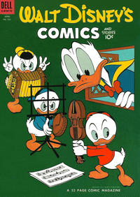 Cover Thumbnail for Walt Disney's Comics and Stories (Dell, 1940 series) #v14#7 (163)