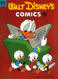 Cover Thumbnail for Walt Disney's Comics and Stories (Dell, 1940 series) #v14#9 (165)