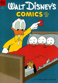 Cover Thumbnail for Walt Disney's Comics and Stories (Dell, 1940 series) #v14#10 (166)