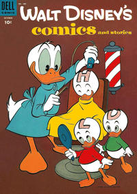 Cover Thumbnail for Walt Disney's Comics and Stories (Dell, 1940 series) #v15#1 (169)