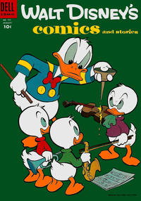 Cover Thumbnail for Walt Disney's Comics and Stories (Dell, 1940 series) #v15#4 (172)