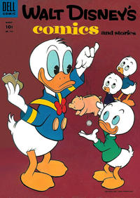 Cover Thumbnail for Walt Disney's Comics and Stories (Dell, 1940 series) #v15#6 (174)
