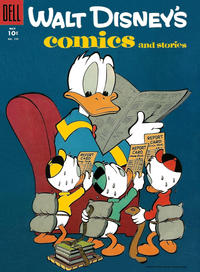 Cover Thumbnail for Walt Disney's Comics and Stories (Dell, 1940 series) #v15#8 (176)