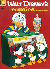 Cover Thumbnail for Walt Disney's Comics and Stories (Dell, 1940 series) #v15#10 (178)