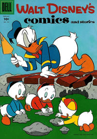 Cover for Walt Disney's Comics and Stories (Dell, 1940 series) #v16#5 (185)