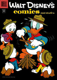 Cover Thumbnail for Walt Disney's Comics and Stories (Dell, 1940 series) #v16#11 (191)