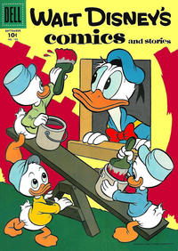 Cover Thumbnail for Walt Disney's Comics and Stories (Dell, 1940 series) #v16#12 (192)