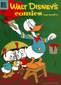 Cover Thumbnail for Walt Disney's Comics and Stories (Dell, 1940 series) #v17#4 (196)