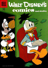 Cover Thumbnail for Walt Disney's Comics and Stories (Dell, 1940 series) #v17#6 (198)