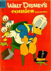 Cover Thumbnail for Walt Disney's Comics and Stories (Dell, 1940 series) #v17#8 (200) [15¢]