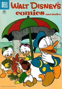 Cover Thumbnail for Walt Disney's Comics and Stories (Dell, 1940 series) #v17#9 (201)