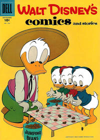 Cover Thumbnail for Walt Disney's Comics and Stories (Dell, 1940 series) #v17#12 (204)