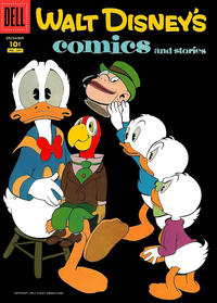 Cover Thumbnail for Walt Disney's Comics and Stories (Dell, 1940 series) #v18#3 (207)