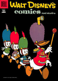 Cover Thumbnail for Walt Disney's Comics and Stories (Dell, 1940 series) #v18#6 (210)
