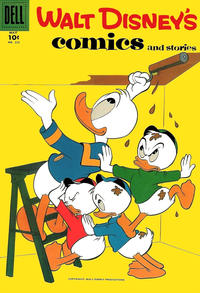 Cover Thumbnail for Walt Disney's Comics and Stories (Dell, 1940 series) #v18#8 (212)