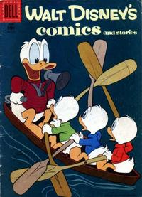 Cover Thumbnail for Walt Disney's Comics and Stories (Dell, 1940 series) #v18#9 (213)
