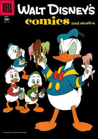 Cover Thumbnail for Walt Disney's Comics and Stories (Dell, 1940 series) #v18#10 (214)