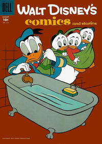Cover Thumbnail for Walt Disney's Comics and Stories (Dell, 1940 series) #v18#11 (215)