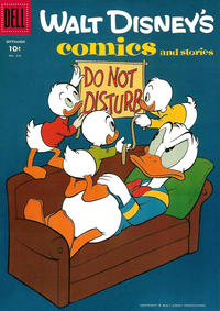 Cover Thumbnail for Walt Disney's Comics and Stories (Dell, 1940 series) #v18#12 (216)