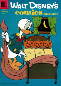 Cover Thumbnail for Walt Disney's Comics and Stories (Dell, 1940 series) #v19#1 (217)