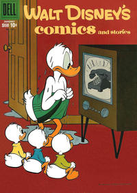 Cover Thumbnail for Walt Disney's Comics and Stories (Dell, 1940 series) #v19#4 (220)