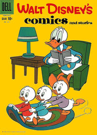 Cover Thumbnail for Walt Disney's Comics and Stories (Dell, 1940 series) #v19#5 (221)