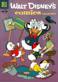 Cover Thumbnail for Walt Disney's Comics and Stories (Dell, 1940 series) #v19#6 (222)