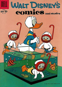 Cover Thumbnail for Walt Disney's Comics and Stories (Dell, 1940 series) #v19#7 (223)