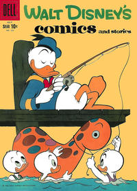 Cover Thumbnail for Walt Disney's Comics and Stories (Dell, 1940 series) #v19#10 (226)