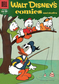 Cover Thumbnail for Walt Disney's Comics and Stories (Dell, 1940 series) #v19#12 (228)