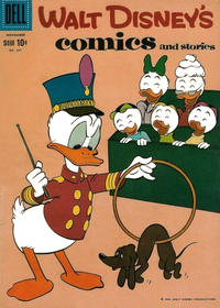 Cover Thumbnail for Walt Disney's Comics and Stories (Dell, 1940 series) #v20#2 (230)