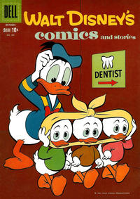 Cover Thumbnail for Walt Disney's Comics and Stories (Dell, 1940 series) #v21#1 (241)