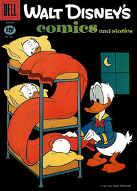 Cover Thumbnail for Walt Disney's Comics and Stories (Dell, 1940 series) #v21#6 (246)