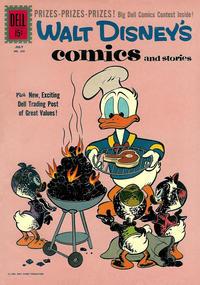 Cover Thumbnail for Walt Disney's Comics and Stories (Dell, 1940 series) #v21#10 (250)