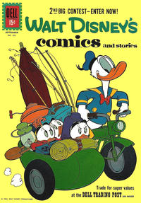Cover Thumbnail for Walt Disney's Comics and Stories (Dell, 1940 series) #v21#12 (252)
