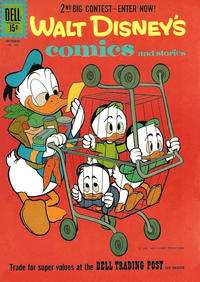 Cover for Walt Disney's Comics and Stories (Dell, 1940 series) #v22#1 (253)