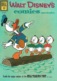 Cover Thumbnail for Walt Disney's Comics and Stories (Dell, 1940 series) #v22#2 (254)