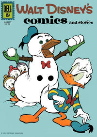 Cover Thumbnail for Walt Disney's Comics and Stories (Dell, 1940 series) #v22#4 (256)