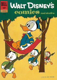 Cover Thumbnail for Walt Disney's Comics and Stories (Dell, 1940 series) #v22#11 (263)