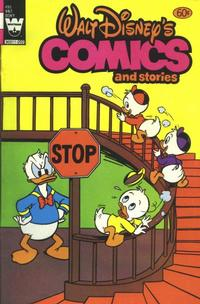 Cover Thumbnail for Walt Disney's Comics and Stories (Western, 1962 series) #v42#3 / 495 [White Logo Variant]