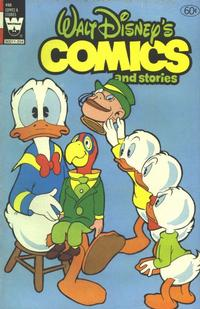 Cover Thumbnail for Walt Disney's Comics and Stories (Western, 1962 series) #v42#6 / 498