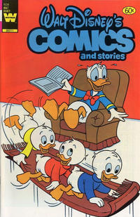 Cover Thumbnail for Walt Disney's Comics and Stories (Western, 1962 series) #v43#4 / 508