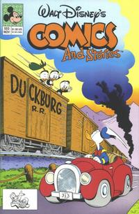 Cover Thumbnail for Walt Disney's Comics and Stories (Disney, 1990 series) #553